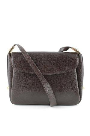 Crossbody bag dark brown casual look
