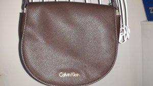 Calvin Klein Bandolera marrón oscuro