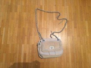 Zara Crossbody bag white suede