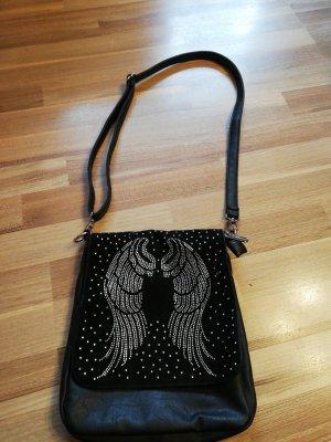 Madonna Gekruiste tas zwart