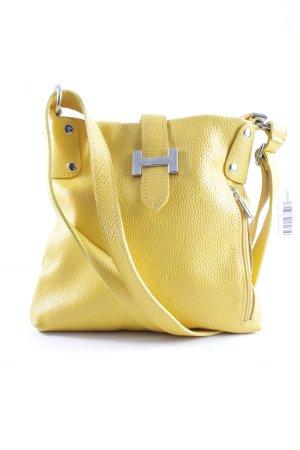 Borsa a spalla giallo stile casual