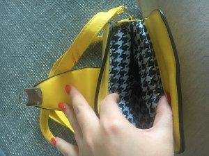 Deichmann Minitasje geel