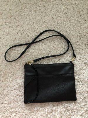H&M Gekruiste tas zwart-goud