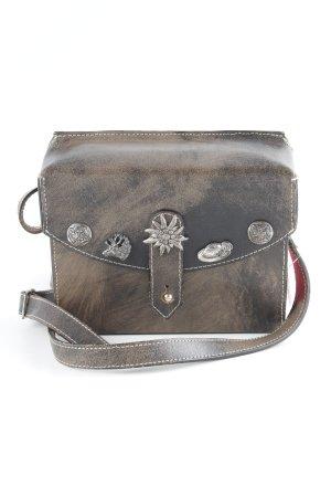 Gekruiste tas lichtbruin-zwart bruin extravagante stijl