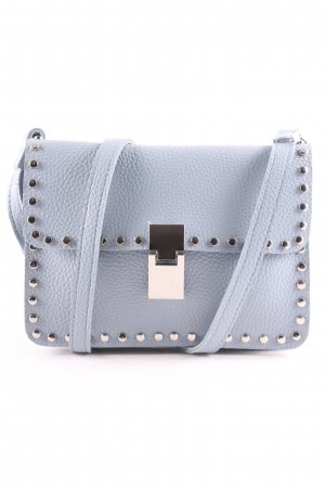 Crossbody bag azure street-fashion look