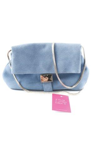 Crossbody bag cornflower blue casual look