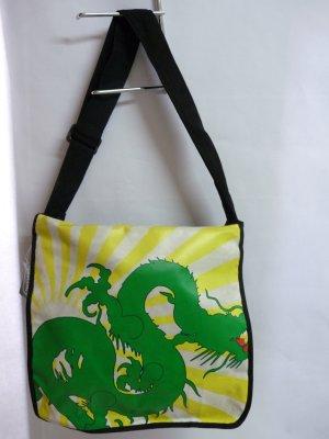Umhängetasche mit Drachenmuster Tasche