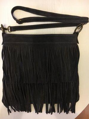 Fringed Bag anthracite