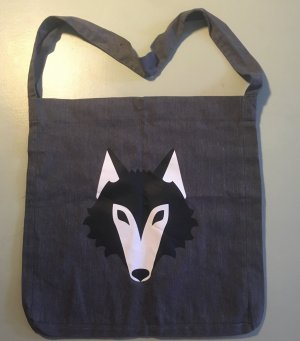 Canvas Bag black-dark grey