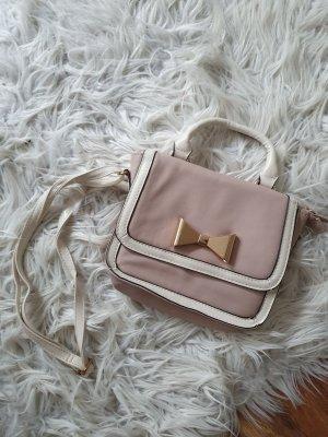 Bijou Brigitte Crossbody bag white-dusky pink