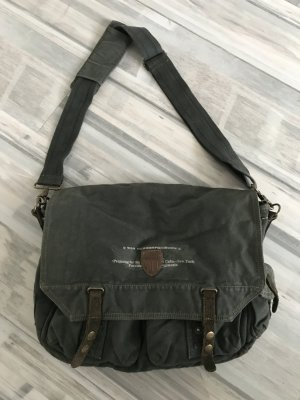 College Bag dark green