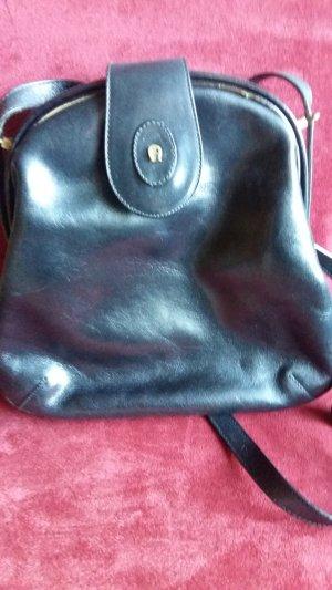 Aigner Crossbody bag black leather
