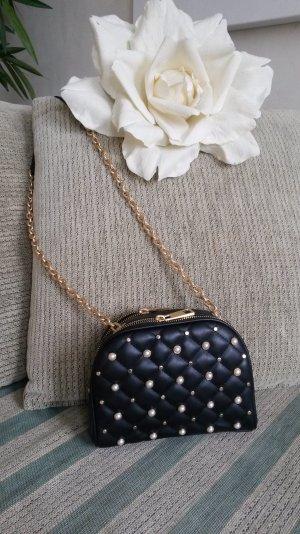 Zara Bandolera negro-color oro