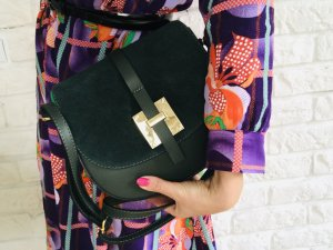 Borse in Pelle Italy Crossbody bag forest green leather