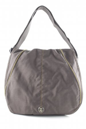 Crossbody bag taupe athletic style