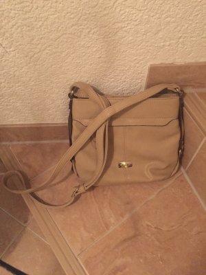 Gabor Crossbody bag camel-sand brown imitation leather
