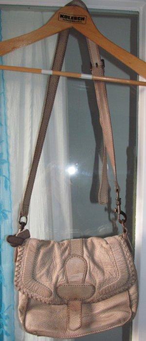 Liebeskind Crossbody bag sand brown leather