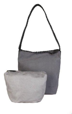 Pierre Cardin Gekruiste tas grijs-zwart