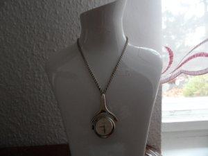 0039 Italy Orologio argento Seta