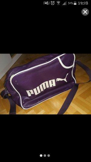 Puma Bolsa de gimnasio violeta oscuro