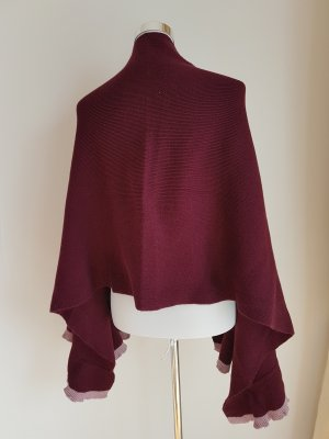 Knitted Scarf brown violet