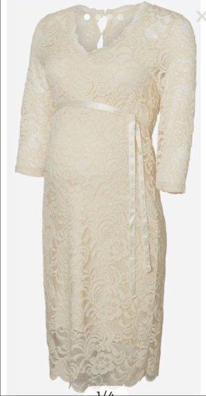 Mama licious Wedding Dress natural white