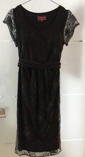 Tiffany Rose Robe en dentelle noir