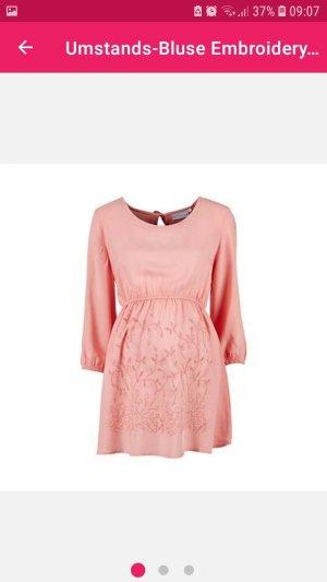 Oversized blouse roze