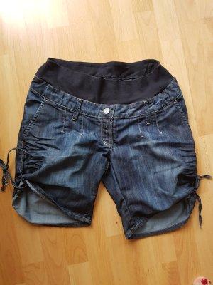 HM Short bleu foncé coton