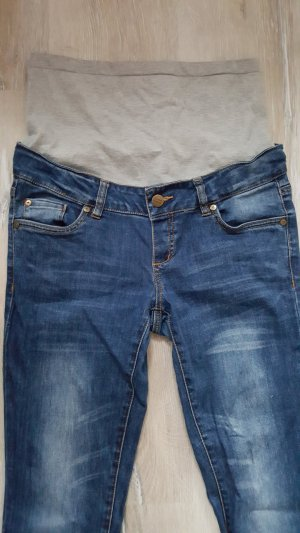Mama licious Jeans steel blue cotton