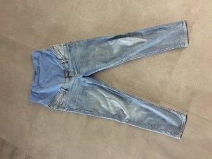 H&M High Waist Jeans steel blue-azure