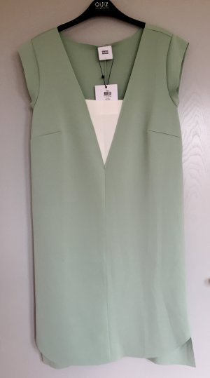 Umstandskleid mint/weiß Gr. L