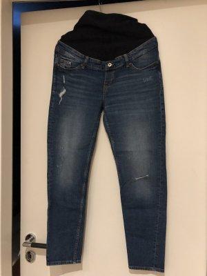 H&M Boyfriend jeans donkerblauw