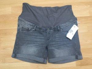 Umstandsmode Jeansshorts grau H&M
