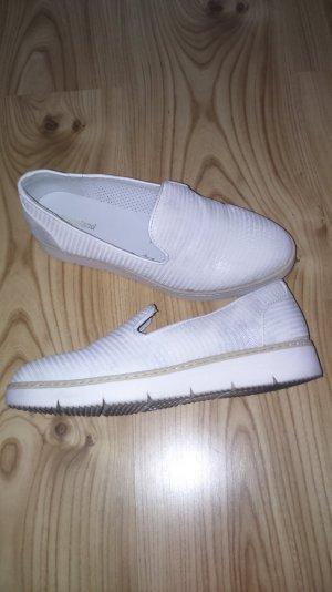 umwerfende Slipper in weiß