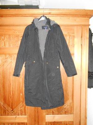 Lands' End Manteau à capuche multicolore tissu mixte
