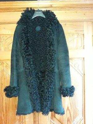 Kenzo Manteau de fourrure noir pelage