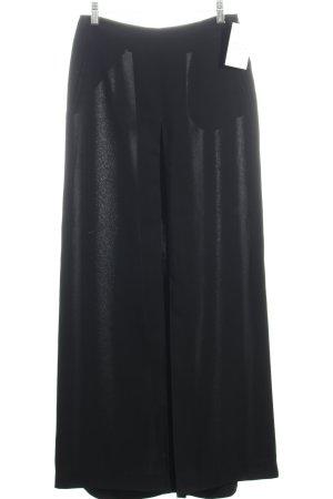 Un Deux Trois Pantalone culotte nero stile professionale