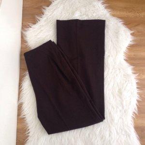Un Deux Trois Hose Dunkel Braun 40 % Lana Wool Wolle DE 36 Business