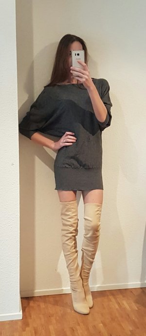 un deux trois pullover fledermausärmel Kleid strick