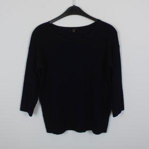 UN DEUX TROIS Pullover Gr. 34 dunkelblau (18/10/132)
