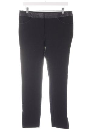 Un Deux Trois Pantalone da equitazione nero stile classico