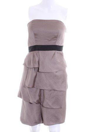 Un Deux Trois Off-The-Shoulder Dress lilac-black elegant