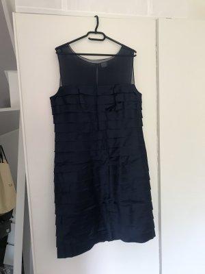 a921a81292cf Un Deux Trois Vestido de noche azul oscuro