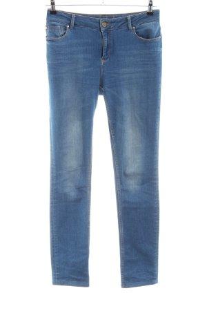 Un Deux Trois Jeans stretch bleu style décontracté