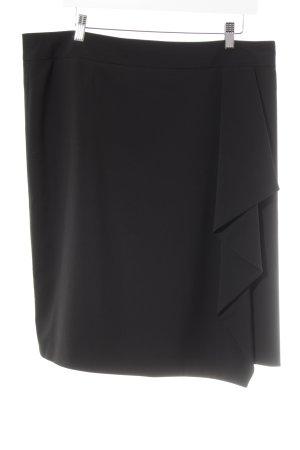Un Deux Trois Circle Skirt black elegant