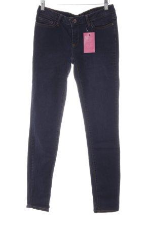 Un Jean Skinny Jeans dunkelblau Casual-Look
