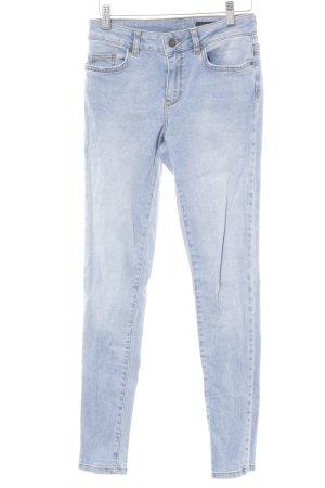 Un Jean Skinny Jeans himmelblau Jeans-Optik