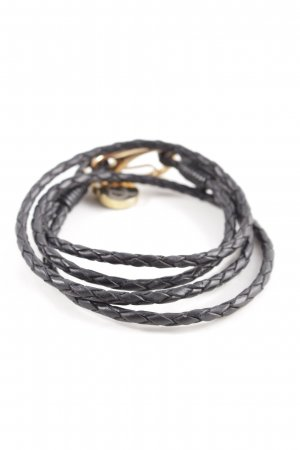 Bracelet black-gold-colored casual look