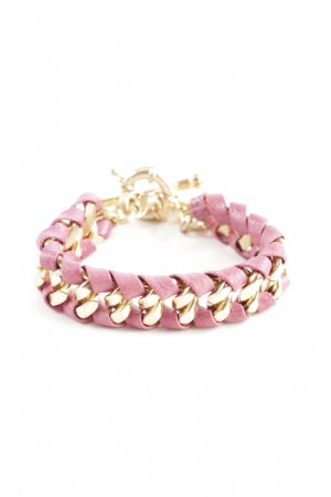 Bracelet gold-colored-pink business style